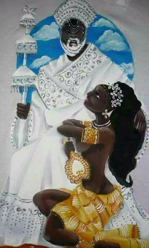 """filhadeoxaguian: """"Meu céu e meu chão Yeyeo mamãe Epiepi Babá """""""