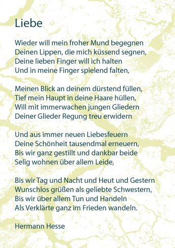Zitate Liebe Hesse