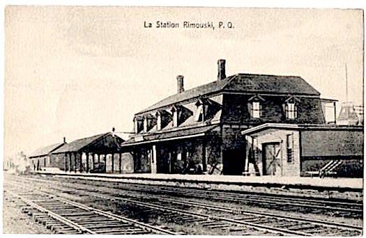 Gare de Rimouski