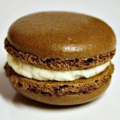Recept na čokoládové macarons podle Davida Lebovitze.