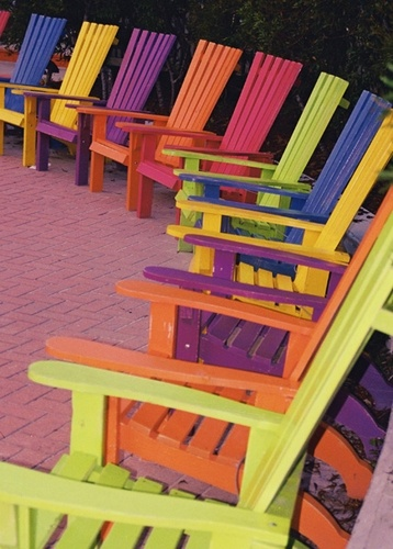 seaside adirondack chairs-karen roberts