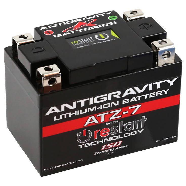 Atz7 restart lithium battery antigravity batteries