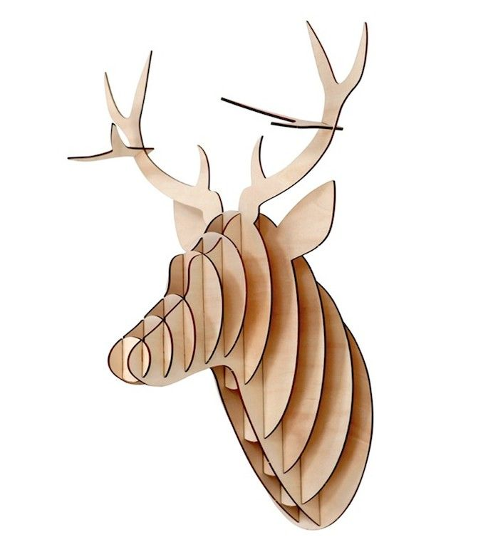 Christmas Gifts | ChristDeer Head Trophy | Shop now at The Idle Man | #StyleMadeEasy
