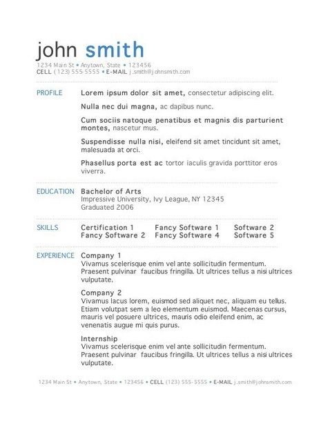 11 best Free Downloadable Resume Templates images on Pinterest - resume sample canada