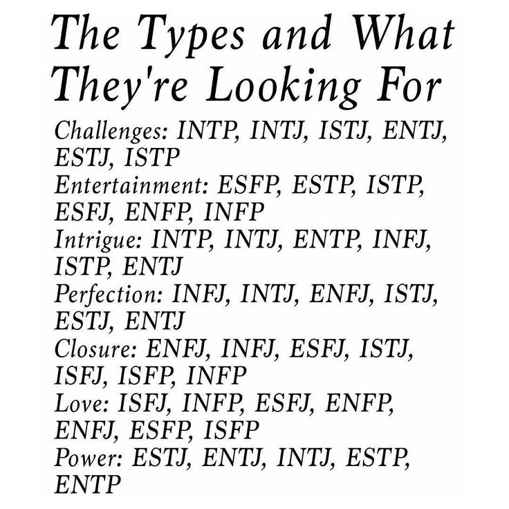 Entj infp dating infj
