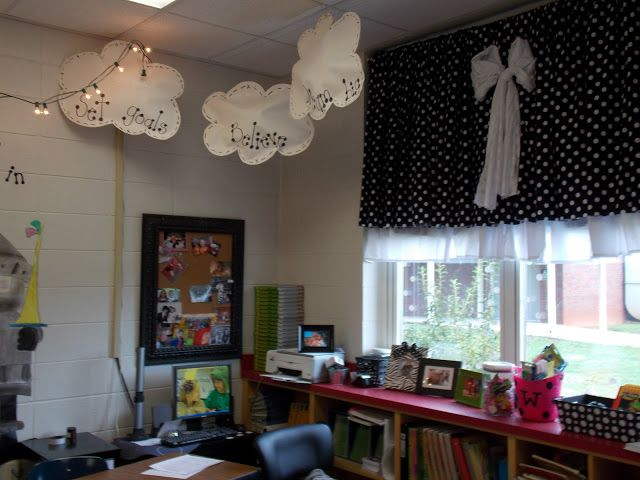 Classroom Decor Templates ~ Clouds hanging from the ceiling how adorable