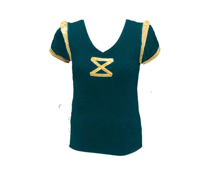 Merida Brave Marathon T-shirt Disney Princess Inspired Running Moisture Wick Shirt Made to Order. $60.00, via Etsy.