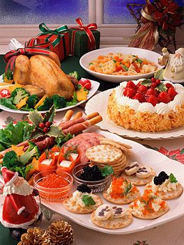 Comida de navidad exprés