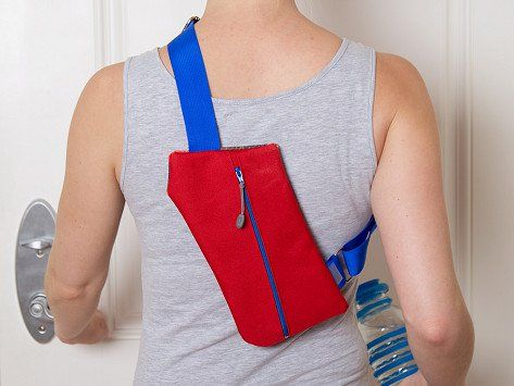 Wear this crossbody bag for travel or just everyday errands to keep your essentials secure without weighing you down (or adding bulk). This bag is Made in the USA with durable canvas and carries your must-haves right where you want it to—in a variety of places, like across your chest, on your back, or around your waist. And it's slim enough to fit under a jacket, too.