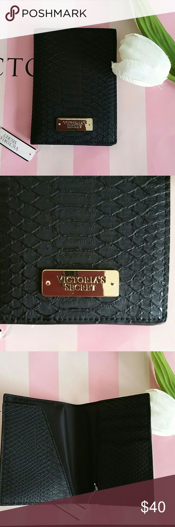 VICTORIA'S SECRET PASSPORT COVER Beautiful Victoria's Secret Passport Cover.  Brand new with tags never used.  Smoke and pet free.  Fast shipping + extra gift.  I don't trade love.  Available   Lowest 18 victoria's Secret Accessories