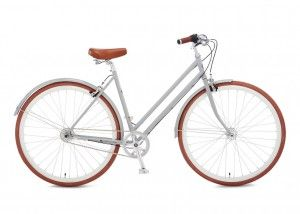 Vintage and retro styled bicycles