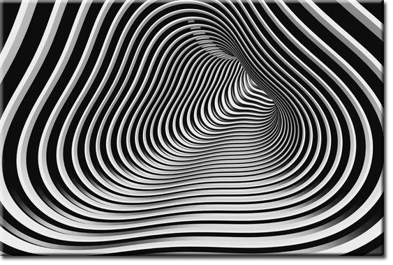 tapeta Czarno-biały tunel - Szukaj w Google
