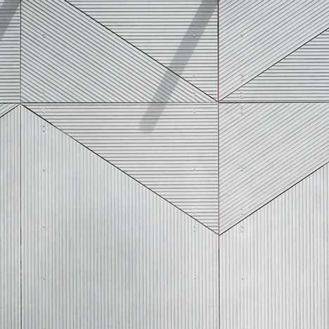 Studio Weave Smith pavilion Clerkenwell Design Week. New EQUITONE facade material.