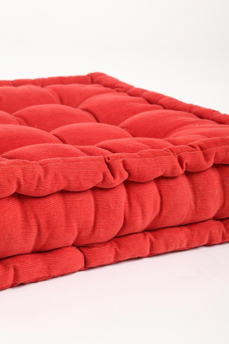 Floor Pillows : Tufted Corduroy Floor Pillow