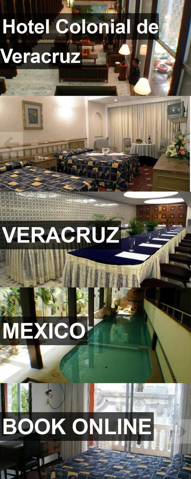 Hotel Colonial de Veracruz in Veracruz, Mexico. For more information, photos, reviews and best prices please follow the link. #Mexico #Veracruz #travel #vacation #hotel