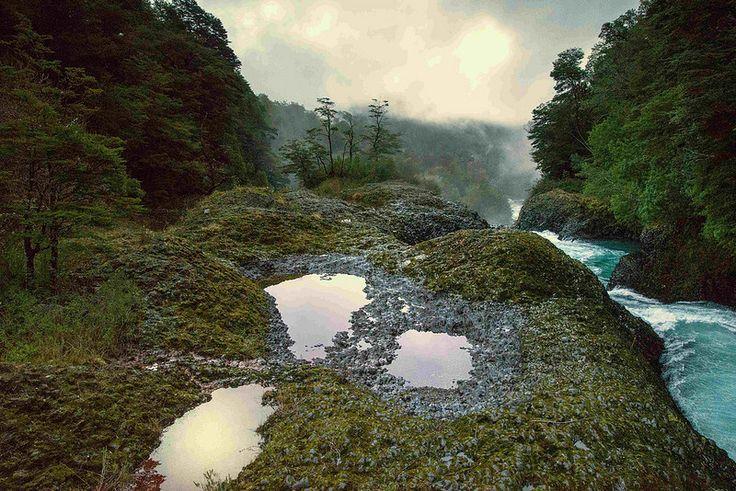Rio Huilo Huilo - Reserva Biológica Huilo Huilo (Chile)