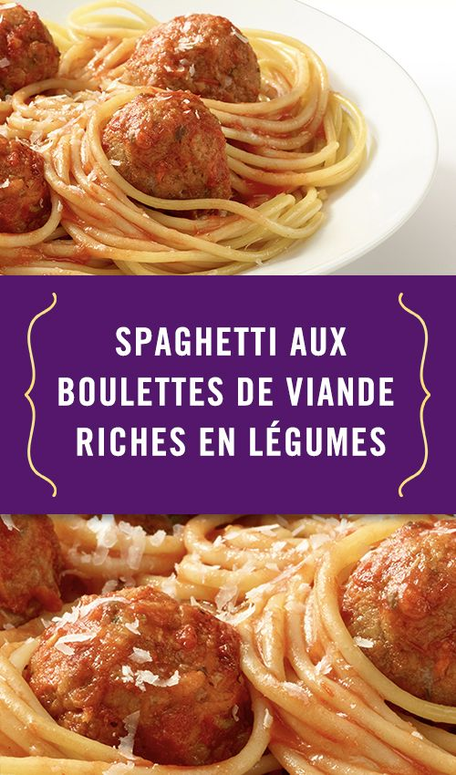 Le spaghetti aux boulettes de viande fait toujours fureur auprès des enfants. Pendant la semaine de relâche, essayez notre recette facile et regardez-les dévorer leur plat!   #Catelli #Canada #Catelli150 #Spaghetti #boulettes #Spaghettiauxboulettes #SmartLégumes #Pâtes #repas #FamillesCatelli #Facile #Simple #Rapide