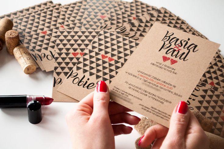 EKO SERCA – zaproszenia w stylu modern rustic – Blog Cartolina