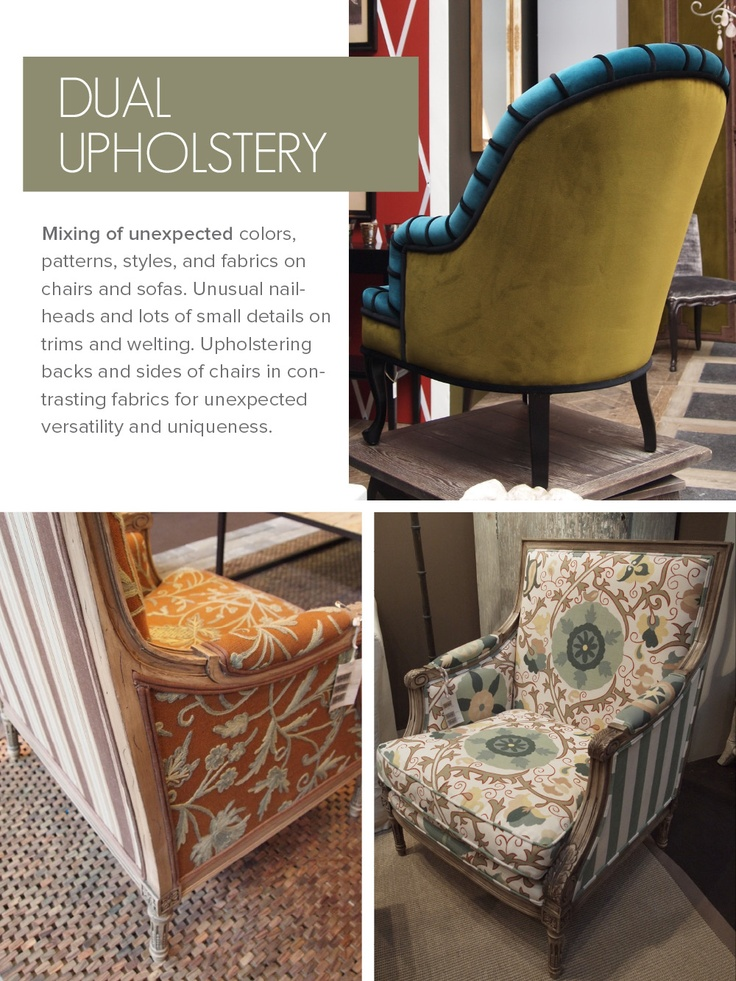 dual upholstery fabrics & 130 best chairs images on Pinterest | Armchairs Chairs and Couches