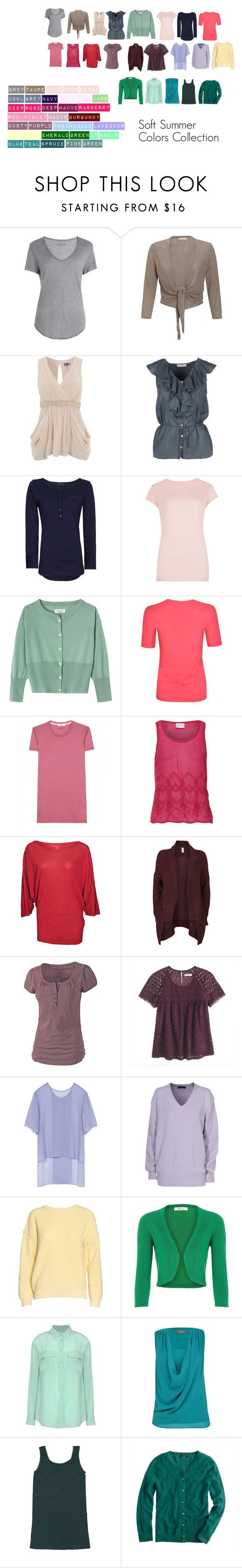 Soft Summer Colors Collection by katestevens on Polyvore featuring Toast, FWSS…