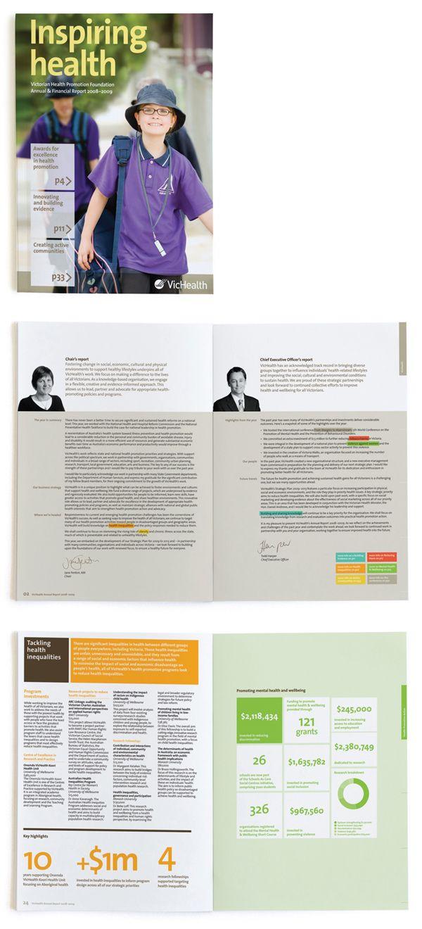 looks like windows 8 + corporate / annual report