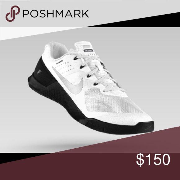 White nike metcon 2 ID Custom women Nike metcon 2. Originally 200$. Great