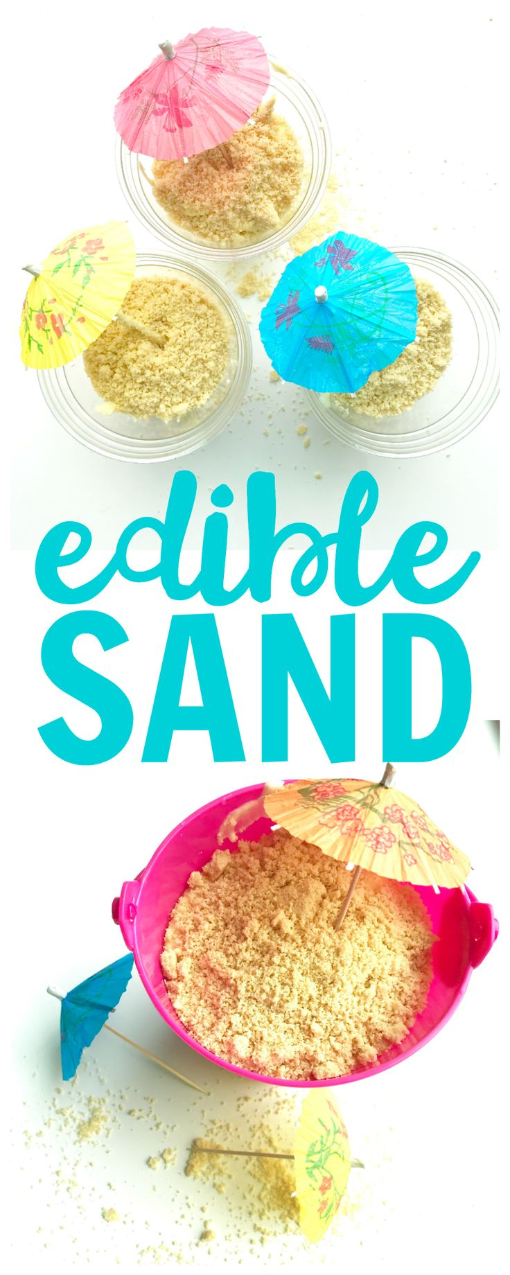 This Edible Sand is a yummy summer dessert or treat for a special occasion!