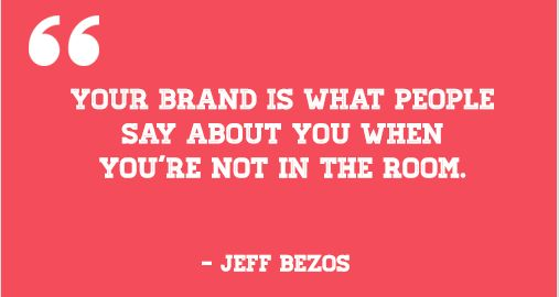 On branding, by Amazon founder Jeff Bezos :-  Read more at http://madmarketr.com/best-inspiring-marketing-quotes/