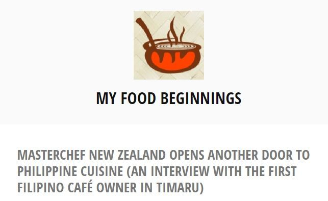 Read the Food Haven Story at MyFoodBeginnings Blog