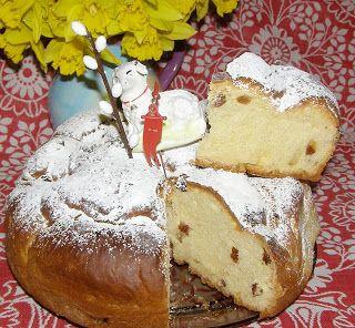 W Mojej Kuchni Lubię.. : drożdżowe rumowe ciasto z rodzynkami...