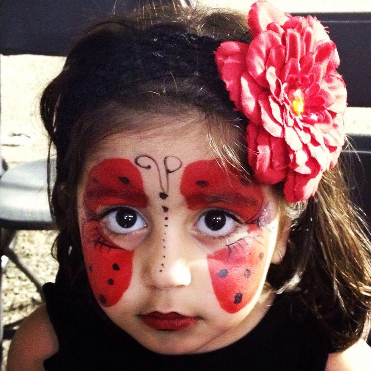 Ladybug makeup