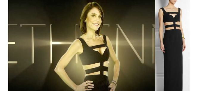 Real+Housewives+of+New+York:+Season+9+Introduction:+Bethenny+Frankel`s+Black+Cut-Out+Dress