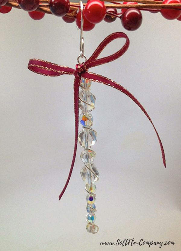 6 Easy Holiday Ornament Ideas With Craft Wire Beaded Ornaments