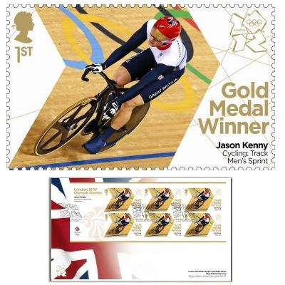 Large image of the Team GB Gold Medal Winner First Day Cover - Jason Kenny