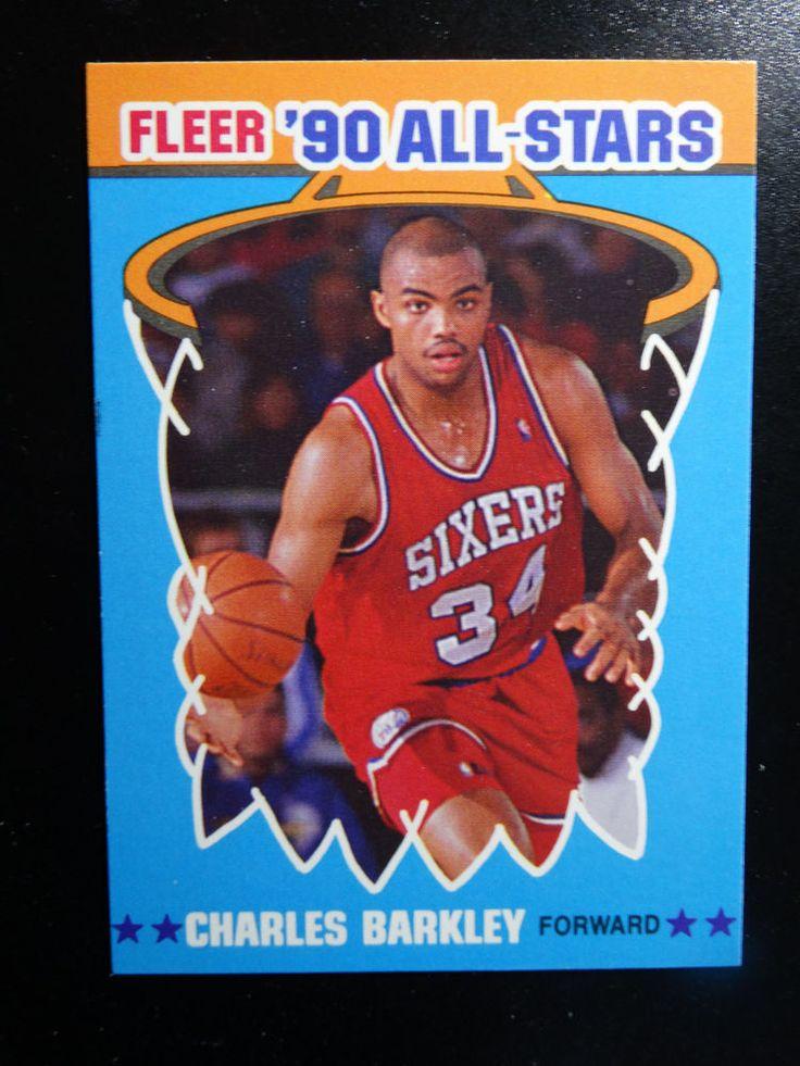 199091 fleer 1 charles barkley philadelphia 76ers