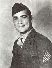 Battle of Saipan - On 16 June 1944, Gunnery Sergeant Robert H. McCard, a Marine, killed sixteen enemies while sacrificing himself to ensure the safety of his tank crew. McCard was posthumously awarded the Medal of Honor for his actions. The USS Robert H. McCard (DD-822), a Gearing-class destroyer, was named in his honor.