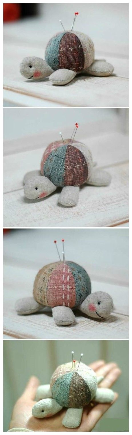 All about Turtle Pincushion Free Sewing Pattern Craft Passion ...