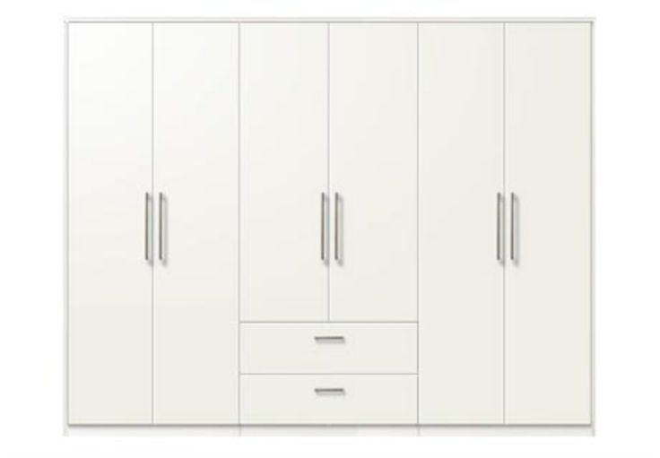 6 door combi wardrobe 3007 - System 300 - Bedroom Furniture | Beds | Furniture Village