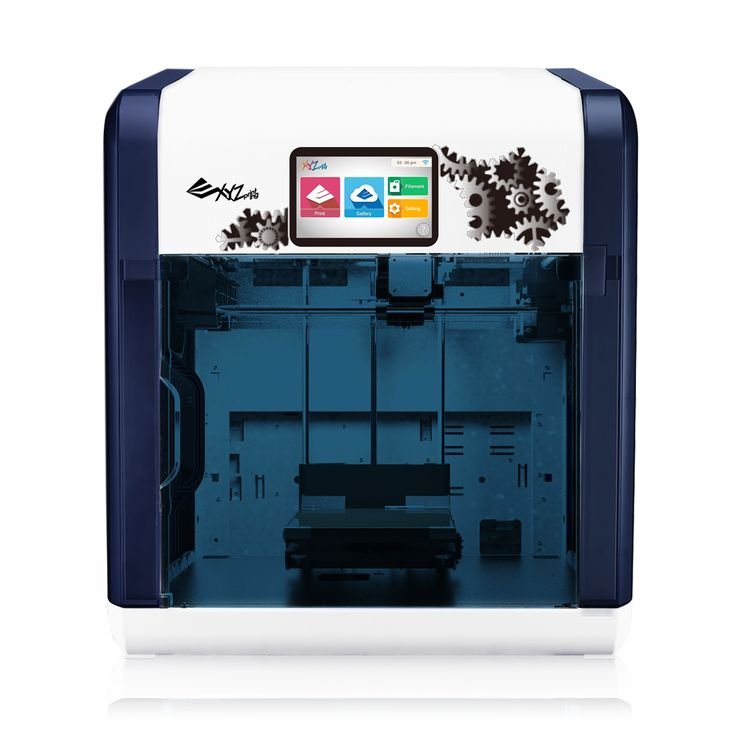 da Vinci 1.1 Plus FDM 3D printer (with Wifi, touch screen panel, and built-in camera)