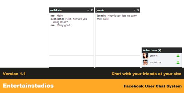 Facebook User Chat System