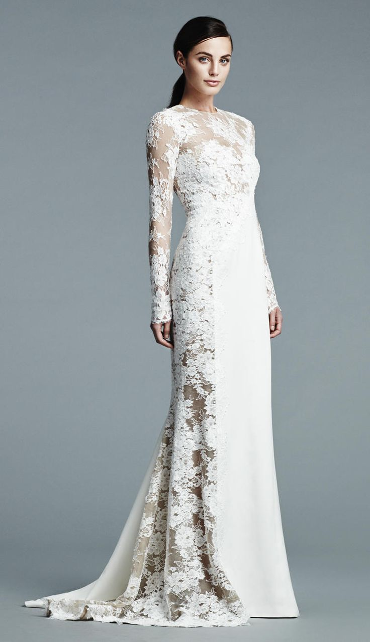 j mendel wedding dresses j mendel wedding dress J Mendel Shows Modern Floral Wedding Dresses for Spring