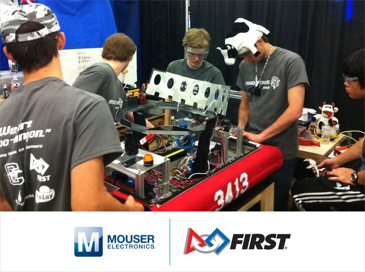 Mouser Electronics' Sponsorship Inspires Future Engineers in FIRST Robotics Competition