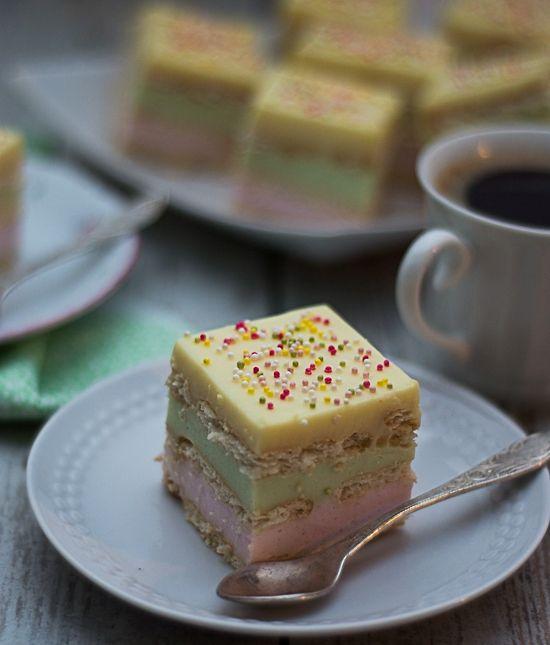 Pianka na herbatnikach (ciasto bez pieczenia)