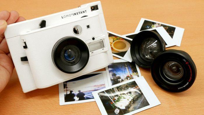 2016年に一般発売が開始された、日本でも人気の「ロモインスタント」。チェキと同じinstax miniフィルムが使える、初心者向けながら革新的な機能を搭載したインスタントカメラです。