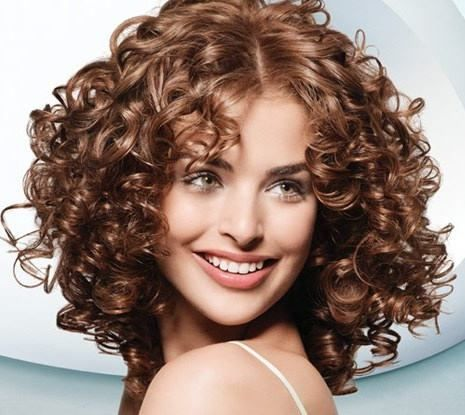 loose spiral perms for short hair