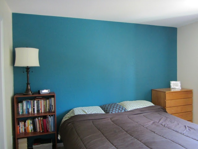 Mosaic Tile By Behr Teal Paint Color Bedroom Accent Wall Love Like Enamel Blog Color Me