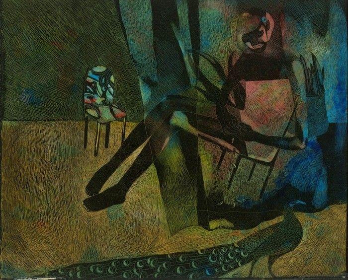 Anna Bulkina - на стульчике
