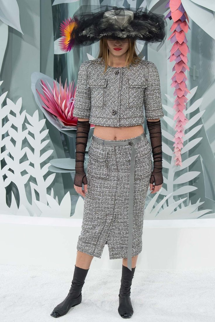 Chanel Spring 2015 Couture Fashion Show