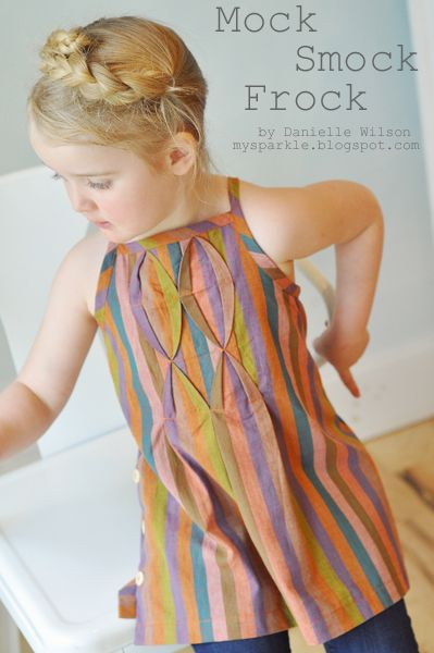 mock smock frock tutorial - see kate sew