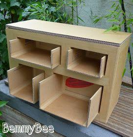 Les 25 meilleures id es de la cat gorie meubles en carton for Bio concept meubles